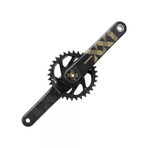 SRAM XX1 Eagle 12sp MTB Chainset - DUB - Gold, Gold