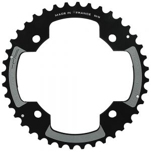 TA 120 PCD Cross MTB Outer Chainring - 4-Bolt - Black, Black