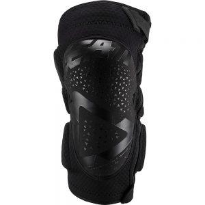 Leatt Knee Guard 3DF 5.0 Zip - L/XL - Black, Black