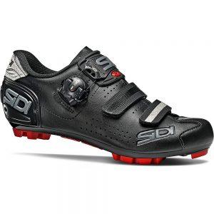 Sidi Women's Trace 2 MTB Shoes - EU 42 - Black-Black, Black-Black