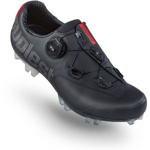 Suplest Edge+ Cross Country Sport MTB Shoes 2020 - EU 47 - Black-Silver, Black-Silver