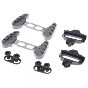 Wellgo CL98R Shimano Road SPD Cleats - Black, Black