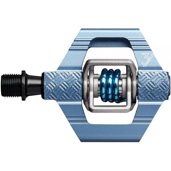 crankbrothers Candy 3 Clipless MTB Pedals - Slate Blue, Slate Blue