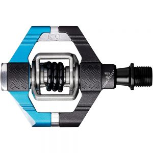 crankbrothers Candy 7 Clipless MTB Pedals - Electric Blue - Black, Electric Blue - Black