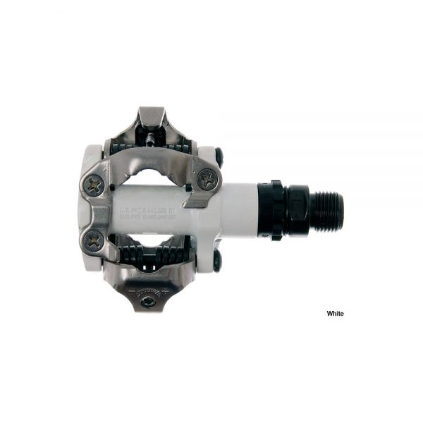 Shimano M520 SPD MTB Pedals - White, White