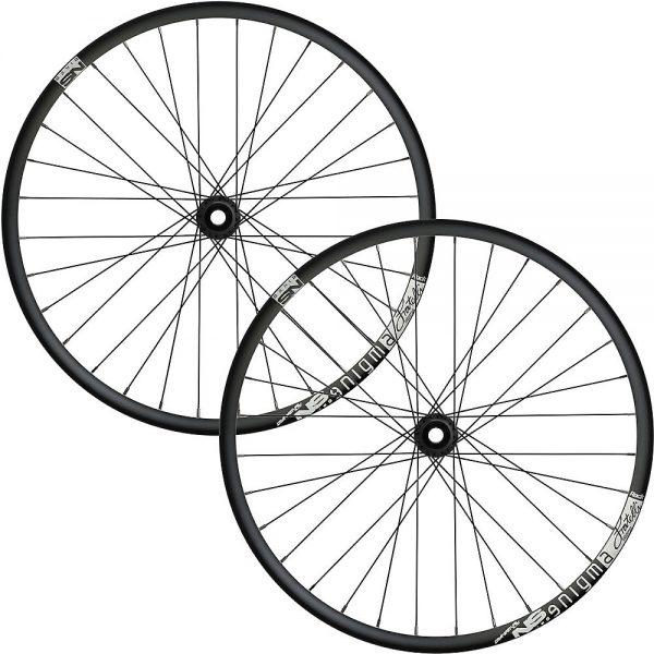 NS Bikes Enigma Rock MTB Wheelset 2018 - 20mm/157x12mm - Black, Black