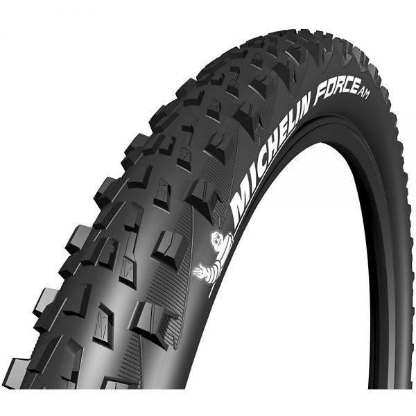 Michelin Force AM Performance TLR MTB Tyre - Folding Bead - Black, Black