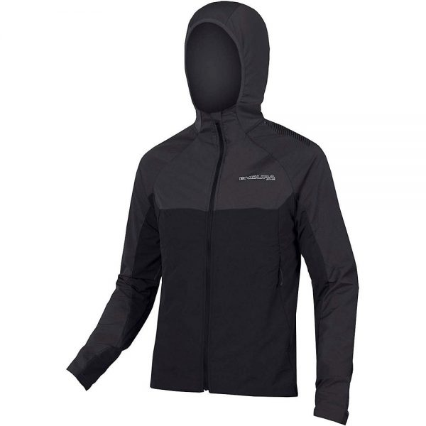 Endura MT500 Thermal Long Sleeve MTB Jersey II - XXL - Black, Black