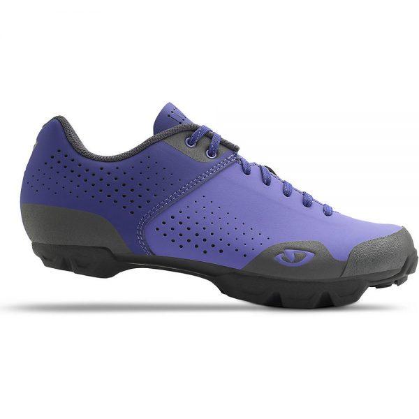 Giro Women's Manta Lace Off Road Shoes 2020 - EU 42 - Blue Iris-Dark Shado, Blue Iris-Dark Shado