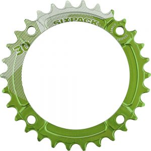 Sixpack Racing K-Ring Narrow-Wide Chainring - Electric Green - 34t, Electric Green