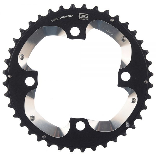 Shimano XT FCM785 10 Speed MTB Chainring - AM Type - For 38.24t - Black, Black