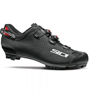 Sidi Tiger 2 SRS Carbon MTB Cycling Shoes SS21 - EU 48 - Black-Black, Black-Black