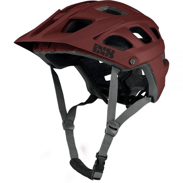 IXS Trail EVO Helmet Exclusive 2020 - S/M - Night-Red, Night-Red