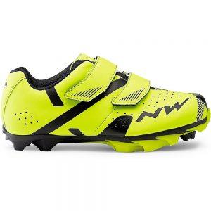 Northwave Hammer 2 Junior MTB Shoe 2019 - EU 38 - Yellow Fluo-Black, Yellow Fluo-Black