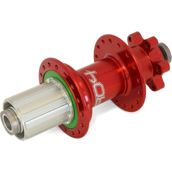 Hope Pro 4 MTB Rear Hub - 150mm x 12mm Axle - 32h - 150mm x 12mm Axle - Red, Red