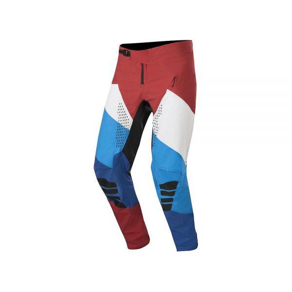 Alpinestars Techstar Pants - 38 - Burgundy White Blue, Burgundy White Blue