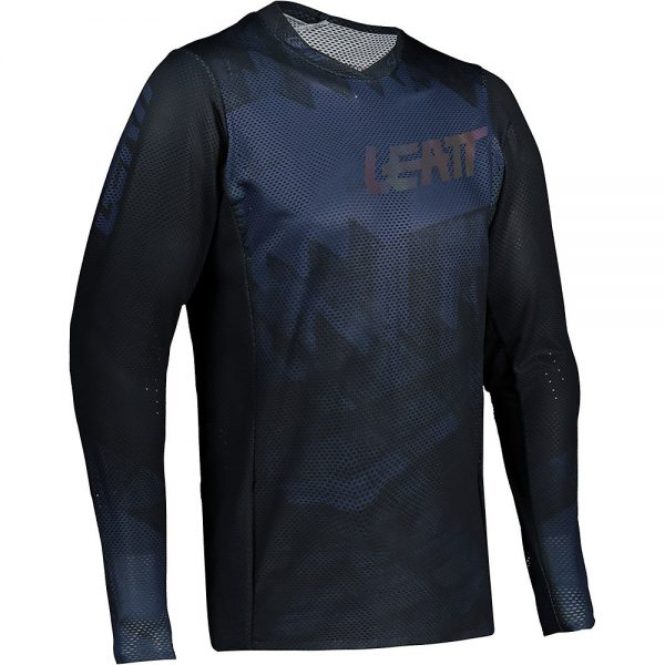 Leatt MTB 4.0 UltraWeld Jersey 2021 - XXL - Black, Black