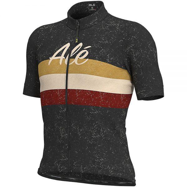 Alé Classic Epica Jersey - S - Black, Black