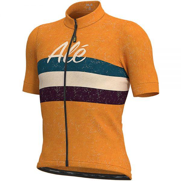Alé Classic Epica Jersey - XXL - Orange, Orange