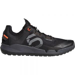 Five Ten Trail Cross LT MTB Shoes - UK 8.5 - Black-Grey-Red, Black-Grey-Red