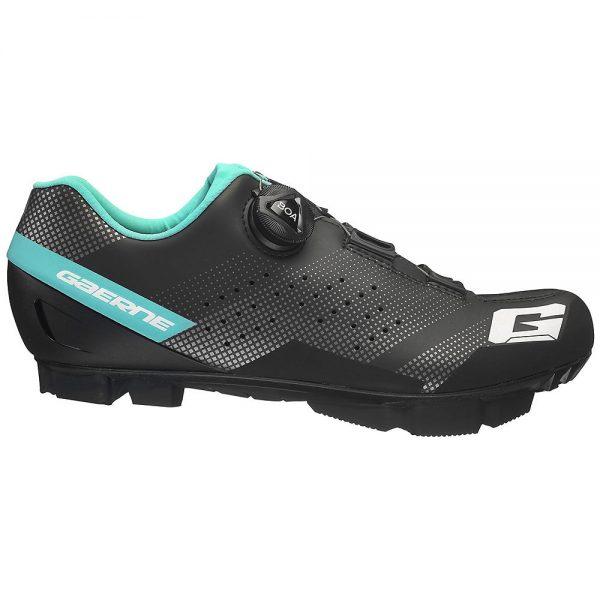 Gaerne Women's Hurricane MTB SPD Shoes 2020 - EU 38 - Black-Light Blue, Black-Light Blue