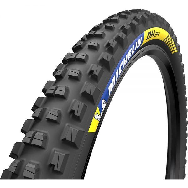 Michelin Downhill 34 Tubeless Ready Tyre - Wire Bead - Black, Black