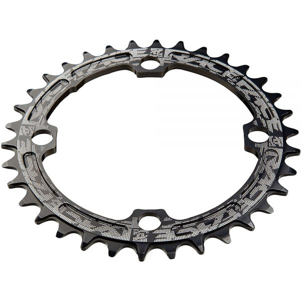 Race Face Narrow Wide MTB Single Chainring - 4-Bolt - Black, Black