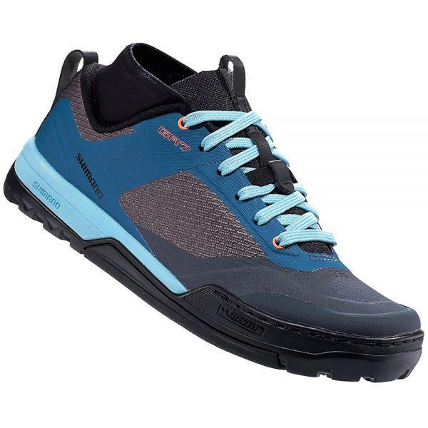 Shimano Women's GR7W Flat Pedal MTB Shoes 2020 - EU 39 - Grey, Grey
