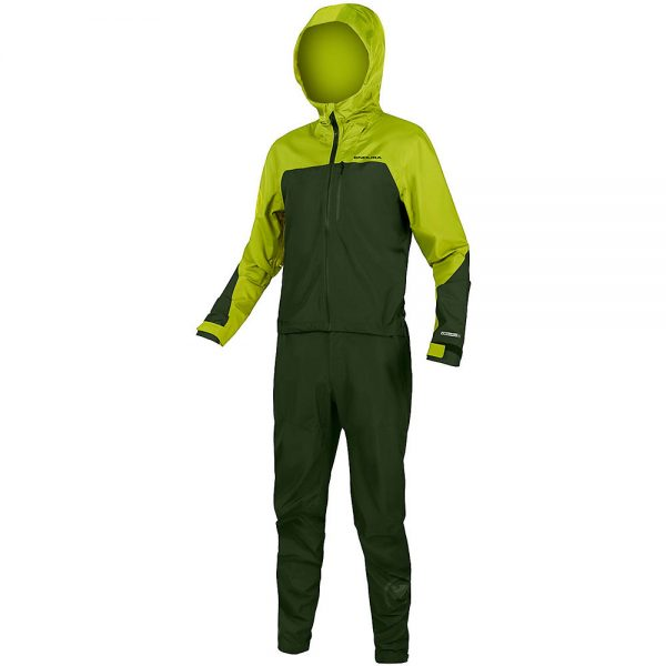 Endura SingleTrack One Piece MTB Suit 2020 - L - Lime Green, Lime Green