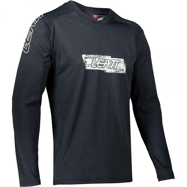 Leatt MTB 2.0 Long Sleeve Jersey 2021 - S - Black, Black