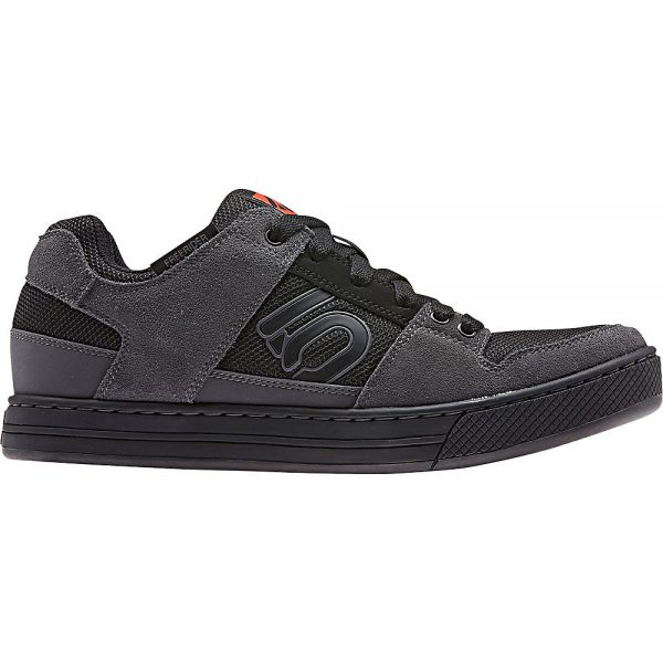 Five Ten Freerider MTB Shoes - UK 11.5 - Black-Grey-Red, Black-Grey-Red