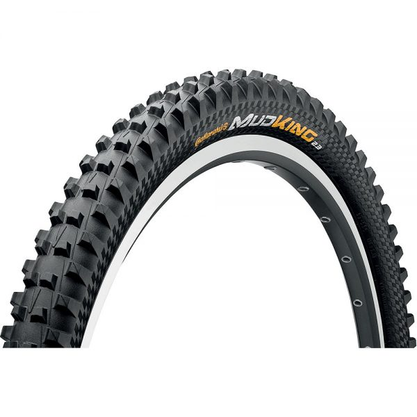 Continental Mud King DH MTB Tyre - ProTection - Wire Bead - Black, Black