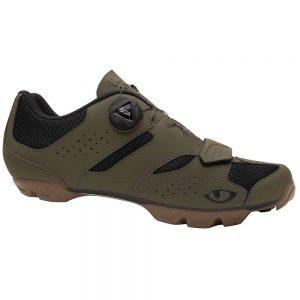 Giro Cylinder II Off Road Shoes 2021 - EU 41 - Olive-Gum, Olive-Gum