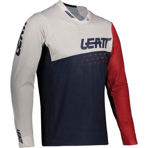 Leatt MTB 4.0 UltraWeld Jersey 2021 - XXL - Onyx, Onyx