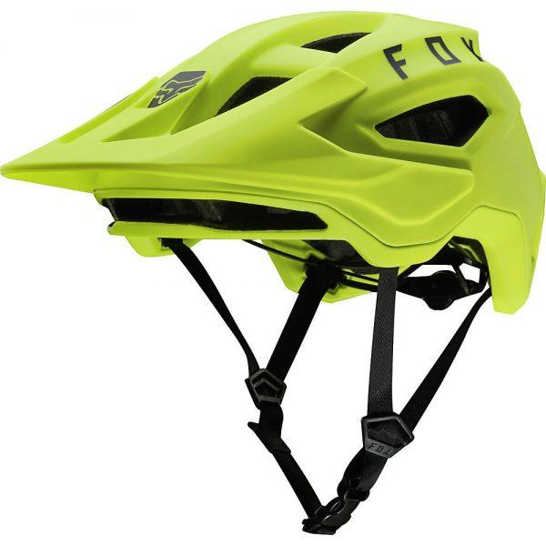 Fox Racing Speedframe MTB Helmet - M - Fluorescent Yellow, Fluorescent Yellow