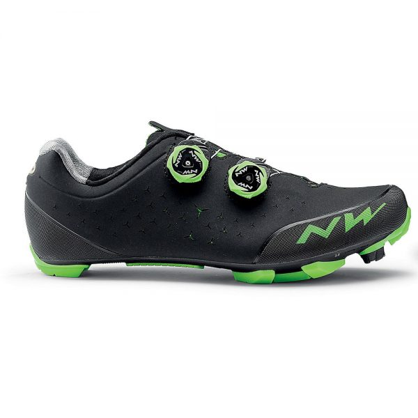 Northwave Rebel MTB Shoes 2020 - EU 44 - Black-Green, Black-Green