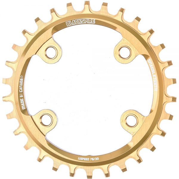 Blackspire Snaggletooth Narrow Wide Chainring (XX1) - 4-Bolt - Gold, Gold