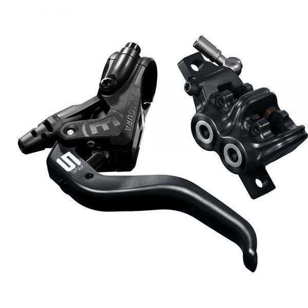 Magura MT5 MTB Disc Brake - Left or Right Hand - Black, Black
