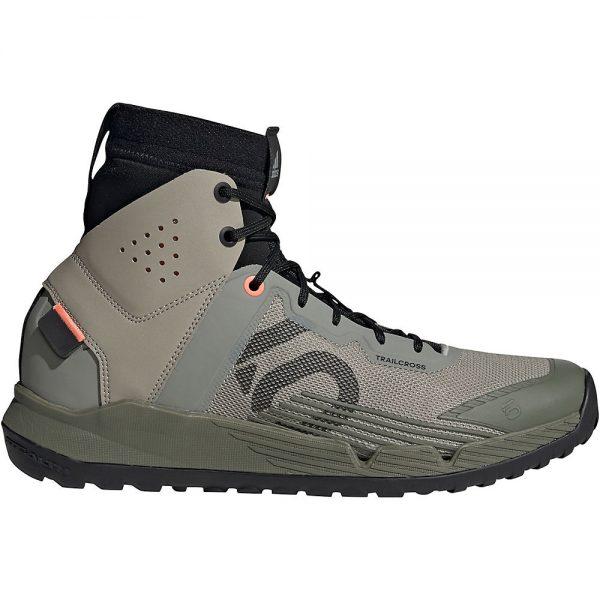 Five Ten Trail Cross MID MTB Shoes - UK 11.5 - Grey-Green-Black, Grey-Green-Black