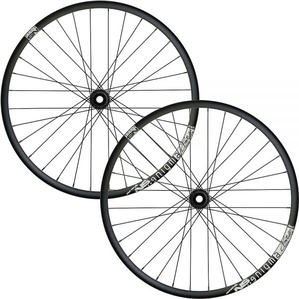 NS Bikes Enigma Rock Boost MTB Wheelset 2018 - 20mm/157x12mm - Black, Black