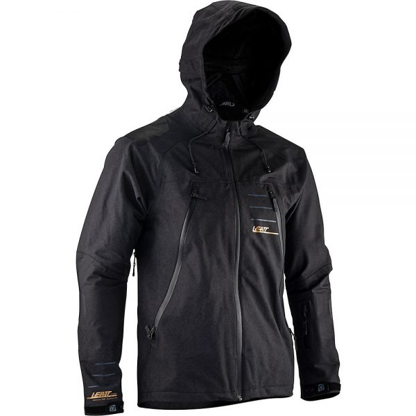 Leatt MTB 5.0 Jacket 2021 - XXL - Black, Black