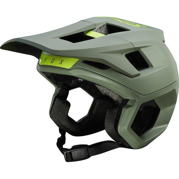 Fox Racing Dropframe Pro MTB Helmet - S - Pine, Pine
