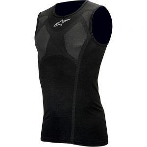 Alpinestars MTB Tech Tank Top Underwear - XXL/XXXL - Black, Black