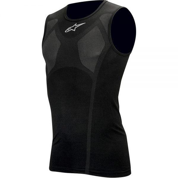Alpinestars MTB Tech Tank Top Underwear - XXL/XXXL - Black, Black