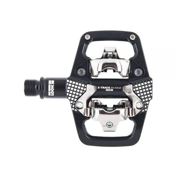 Look X-Track Rage + MTB Pedals - Black, Black