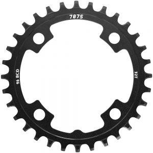 SunRace MX00 Steel Chainring - 4-Bolt - Black, Black