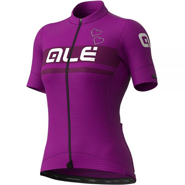 Alé Women's PRS Crystal Jersey - XXL - Purple, Purple