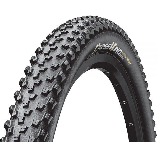 "Continental Cross King Folding RaceSport MTB Tyre - Black - 27.5"" (650b), Black"