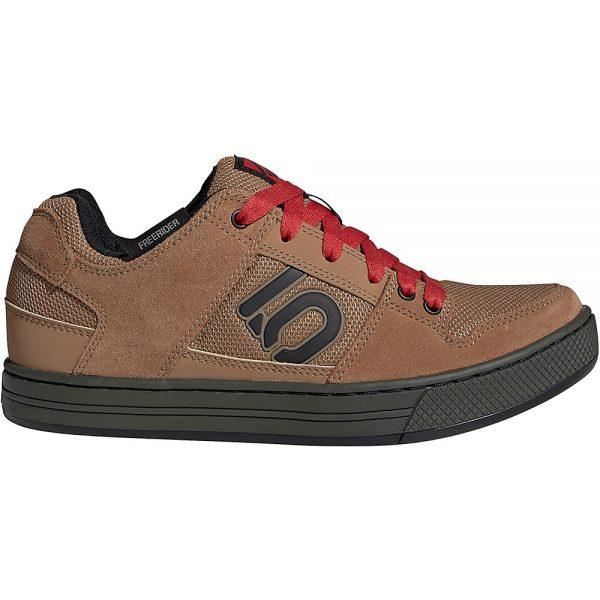 Five Ten Freerider MTB Shoes - UK 8.5 - Brown-Black-Red, Brown-Black-Red