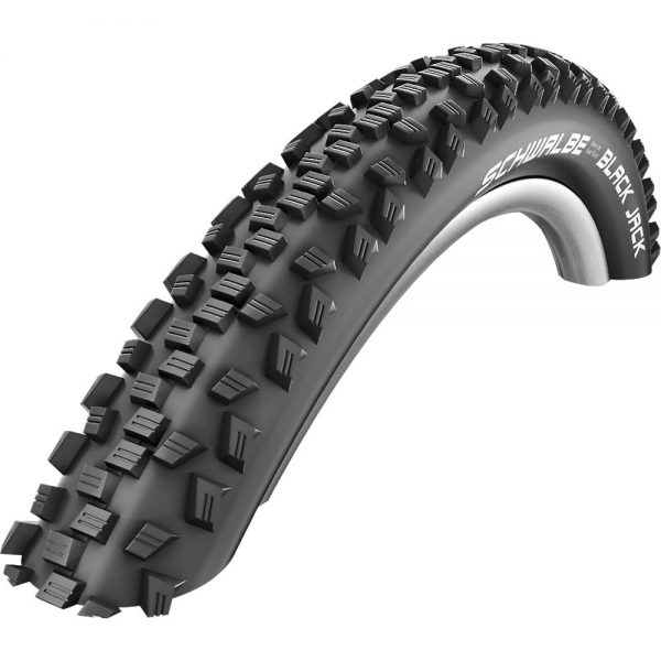 Schwalbe Black Jack Puncture Protect MTB Tyre - Wire Bead, Black